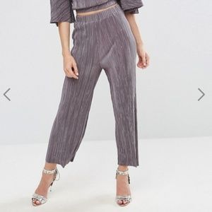 ASOS Oh My Love Pleat Culottes